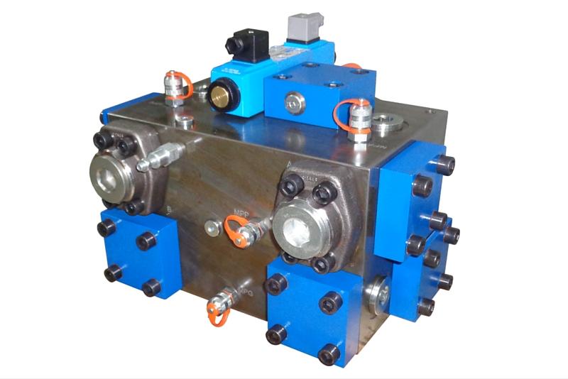 Bloc de composants hydrauliques