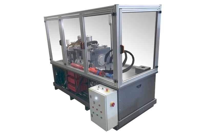 Banc d'essai pour tester les composants hydrauliques