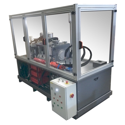 Fabrication de bancs d'essai chez ID System