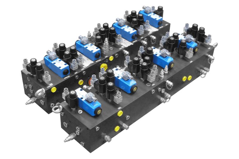Bloc spécifique avec composants EATON