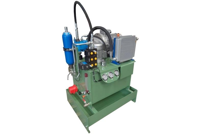 Centrale hydraulique pour une société spécialisée dans la scierie