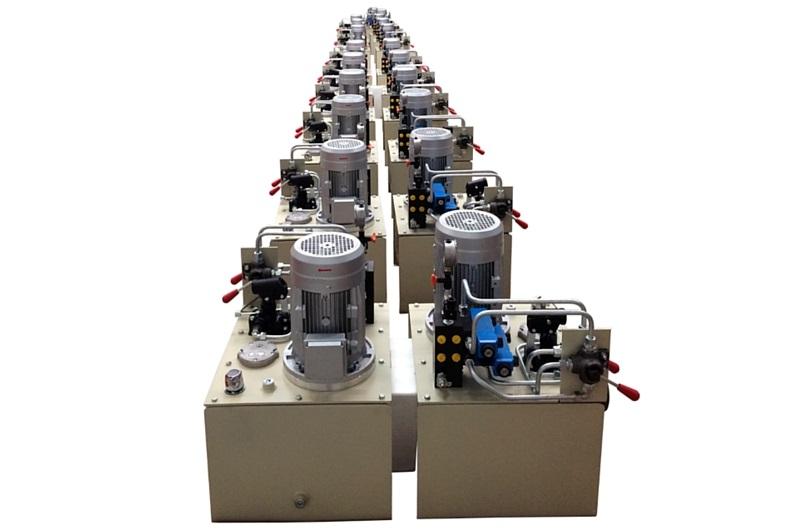 Centrale hydraulique standard personnalisée