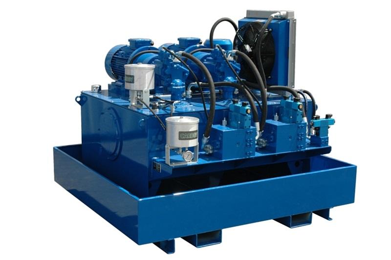 Système hydraulique pour une presse cartonnage