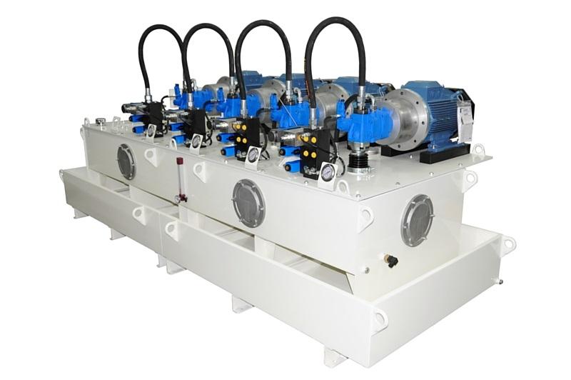 Système hydraulique pour un parc d'attraction