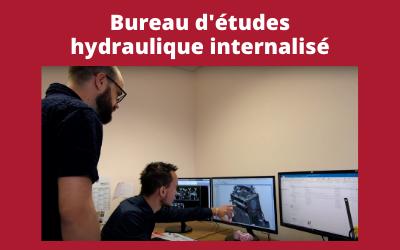 Pourquoi disposer d'un bureau d'études en interne pour concevoir votre groupe hydraulique ?